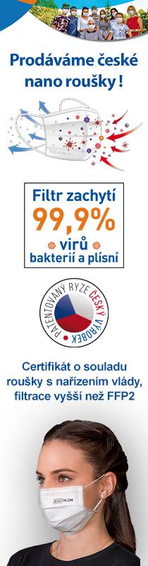 České nano roušky v prodeji na az-shop.cz!