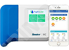 Hunter HC 12 s web. softwarem Hydrawise - WiFi, 12 sekcí, bez trafa